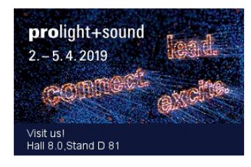 Pro light + Sound 2019