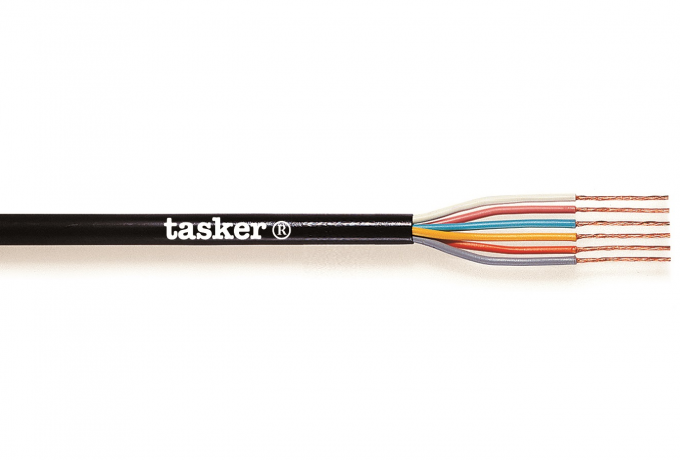 Flexible sheathed cable 12 x 0,25