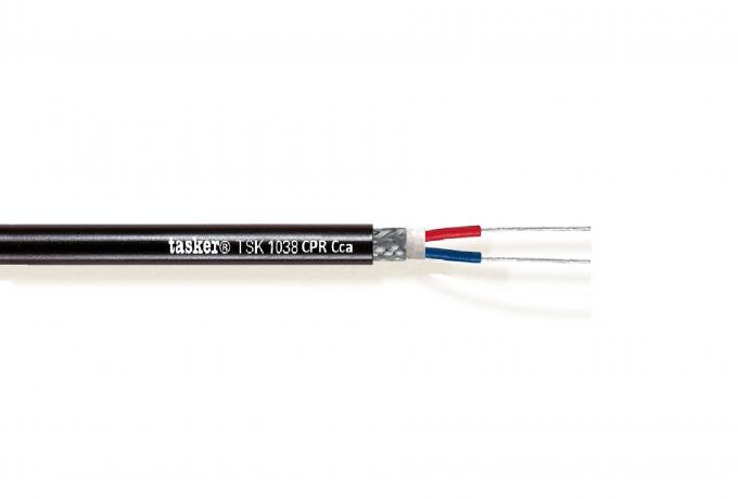 Digital cable 110 Ohm per DMX Led 2x0,35 mm² - CPR Cca