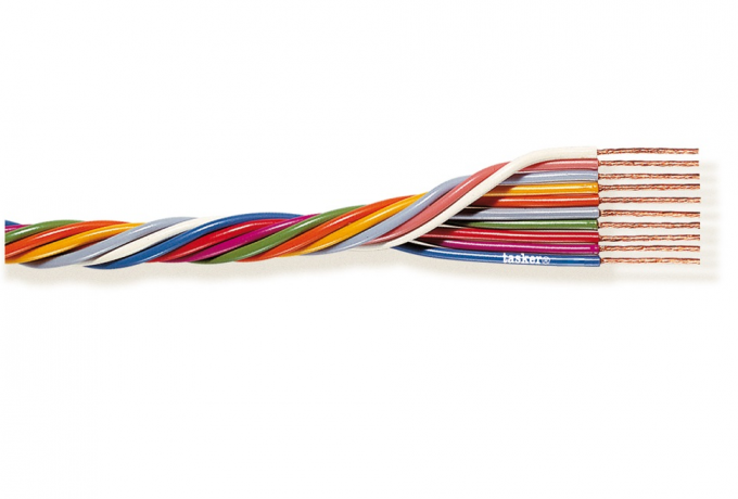 Multipolar cable 8x0,35