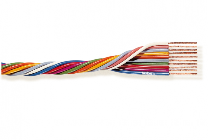 Multipolar cable 6x0.35