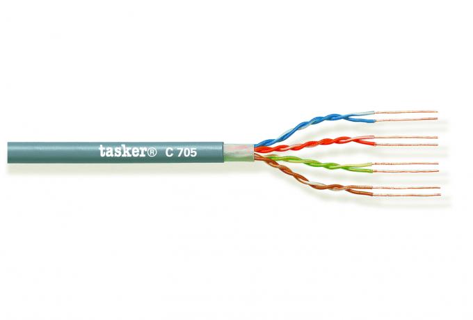 LAN cable 5e U.T.P. 4x2x0,14 mm²