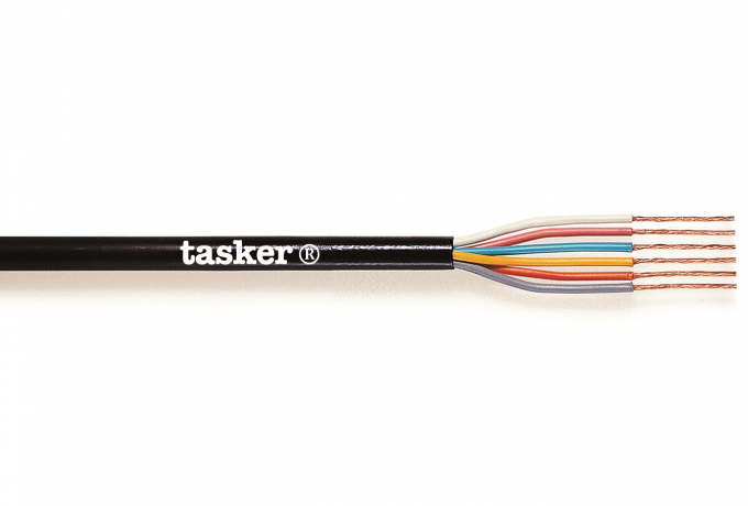 Flexible sheathed cable 6 x 0,25